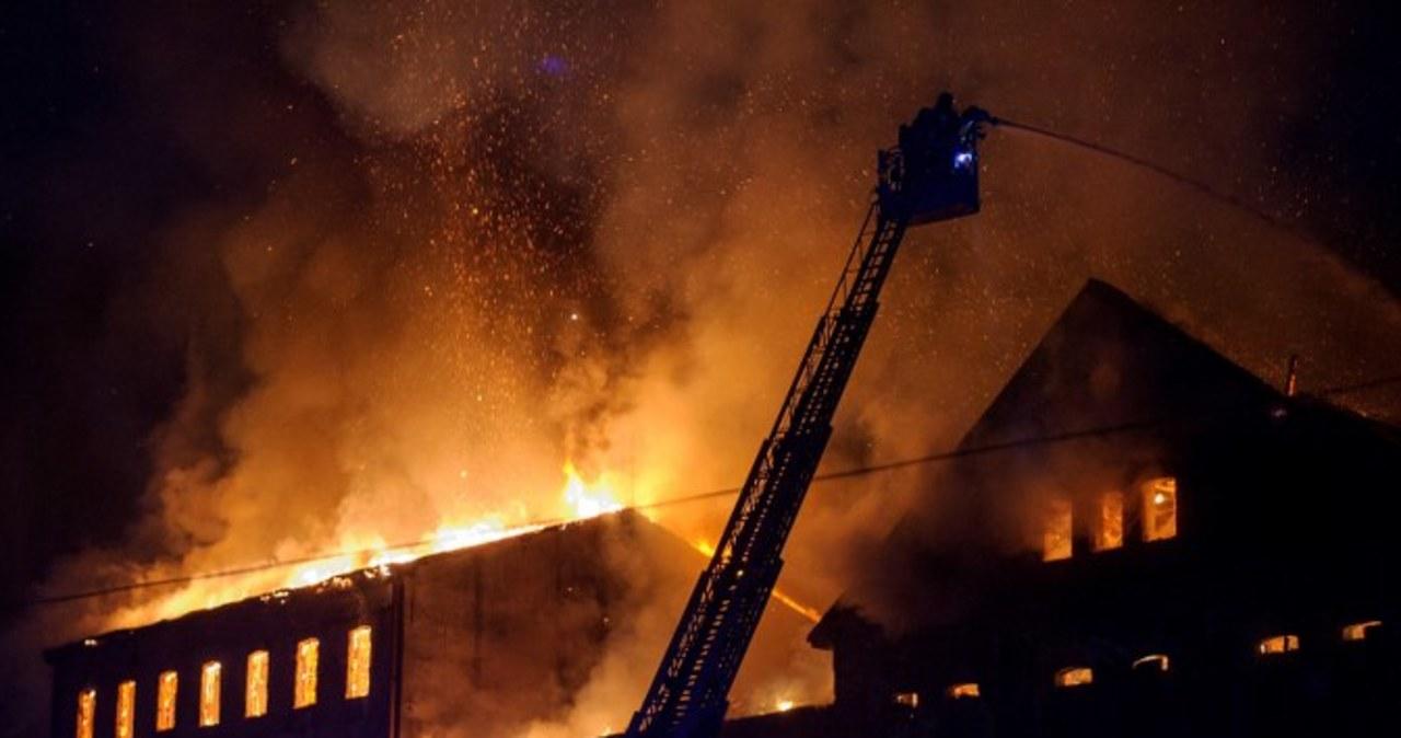 Spłonął zabytkowy młyn w Tarnowie