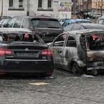 Spłonęło 9 samochodów. Samozapłon, podpalenie?