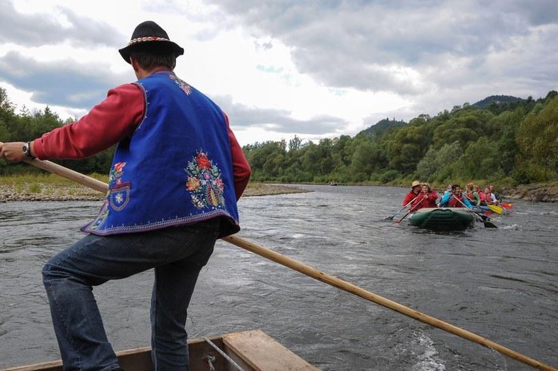 Spływ Dunajcem w Pieninach. /Gerard /Reporter