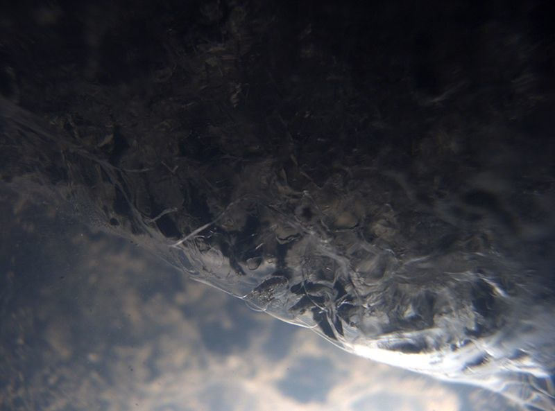 Spód warstwy lodu przykrywającej Jezioro Mercera od tysięcy lat /Bob Zook i John Winans/SALSA Science Team /Materiały prasowe
