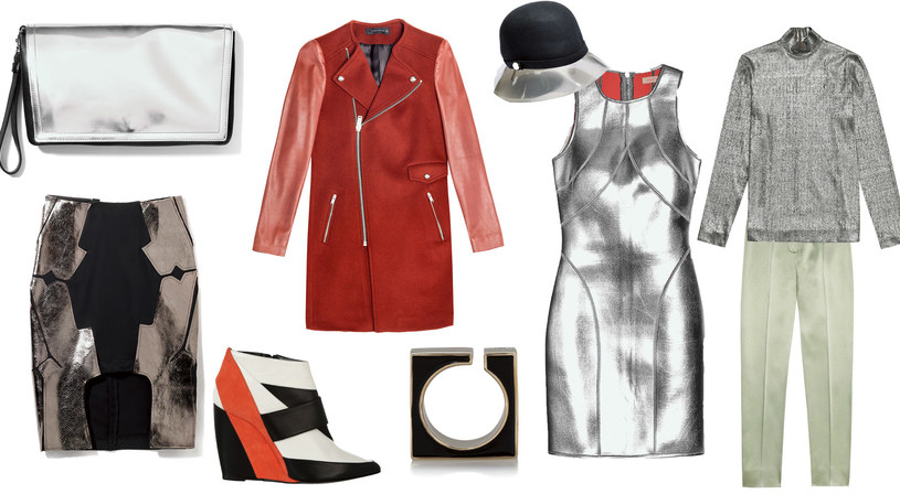spódnica - AGNIESZKA MACIEJAK | buty PIERRE HARDY | kopertówka - SPORTMAX | bransoletka - CHOLE | płaszcz - ZARA | kapelusz - FURLA | sukienka - SASS & BIDE | spodnie i golf - COS | /Twój Styl