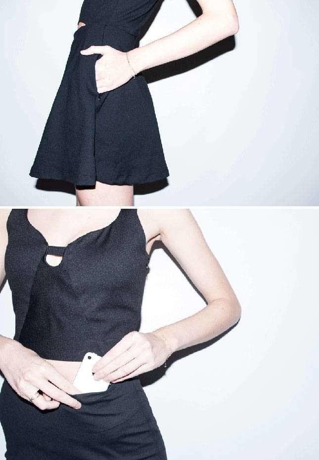 Spódnica posiada specjalną, ukrytą kieszeń /38thandwick.com /INTERIA.PL