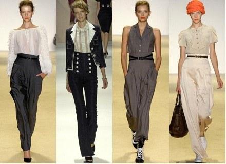 Spodnie z podwyższonym stanem są bardzo modne /East News/ Zeppelin