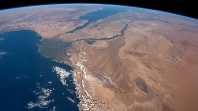 Spojrzenie na rzekę Nil z orbity /materiały prasowe