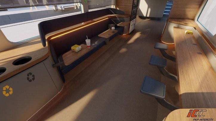 Spółka informuje, że w pociągach będzie można m.in. wygodnie zjeść /PKP Intercity /Archiwum