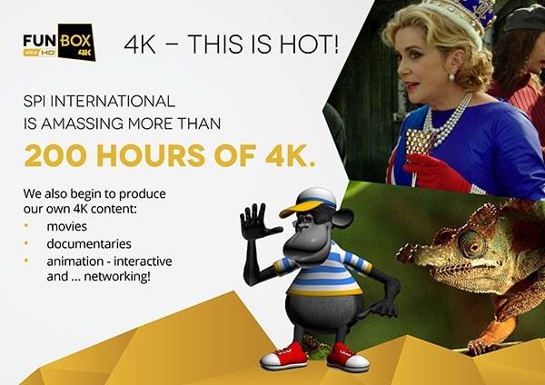 Spółka Kino Polska TV S.A. będzie rozprowadzała jeden z pierwszych na świecie kanałów UHD, foto: SPI International B.V. /materiały prasowe