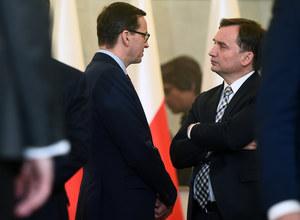 Spór między Mateuszem Morawieckim i Zbigniewem Ziobrą. Gorąco w Zjednoczonej Prawicy