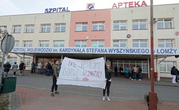 Spór o szpital w Łomży. SOR zostanie wydzielony w jednym z miejskich budynków?