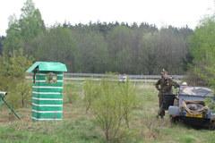 """Spór o węzeł autostrady A4 – do akcji wkroczyło """"wojsko"""""""