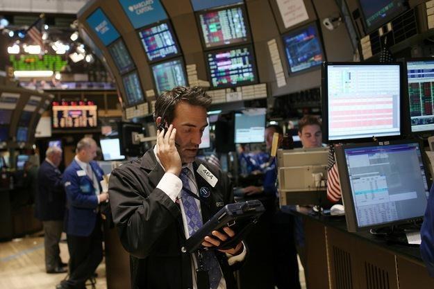 Spore spadki na Wall Street także z powodu obaw o strefę euro /AFP