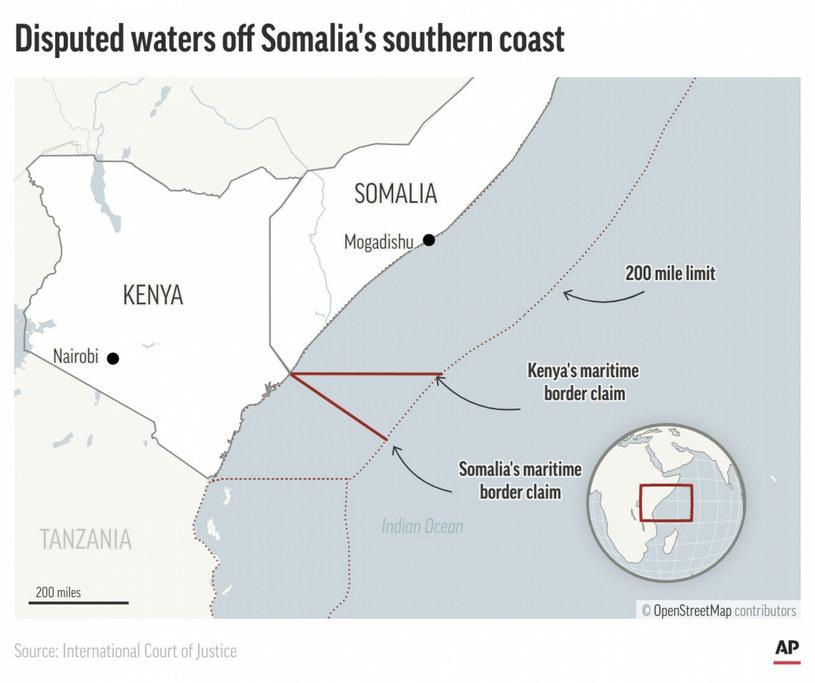 Sporne terytorium zostało przyznane Somalii /AP/Associated Press/ /East News
