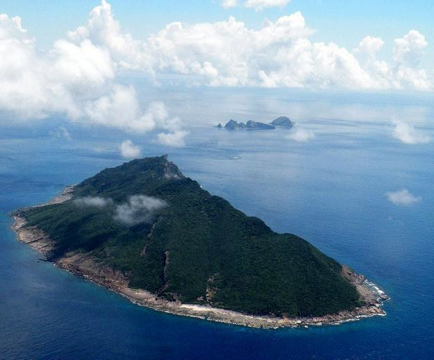 Sporne wyspy Senkaku /AFP