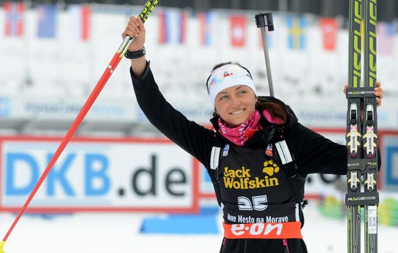 Sporo radości polskim kibicom na MŚ w Czechach dostarczyła Monika Hojnisz, która zdobyła brązowy medal. /AFP