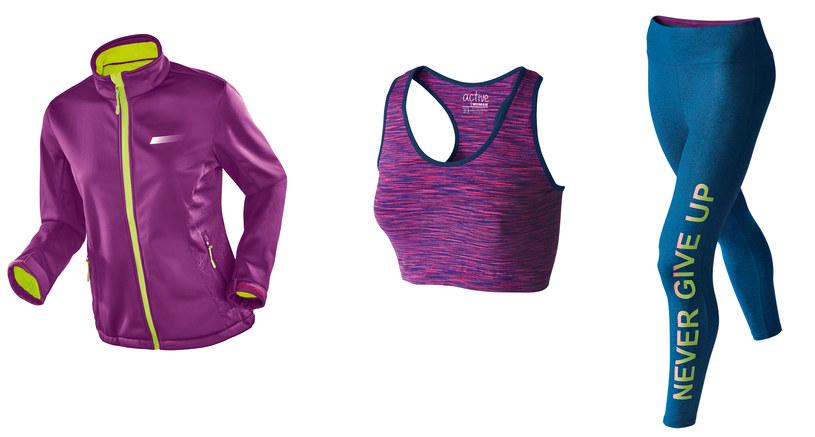 Sportowy stanik, leginsy i kurtka - ten zestaw sprawdzi się podczas joggingu! /materiały prasowe