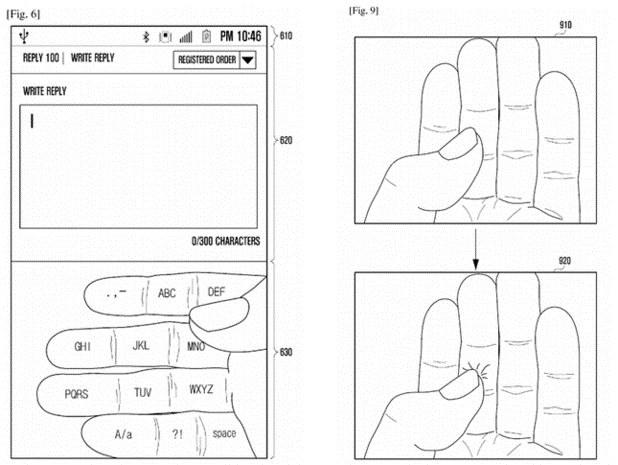 Sposób wprowadzania tekstu na wirtualnej klawiaturze Samsunga. /materiały prasowe