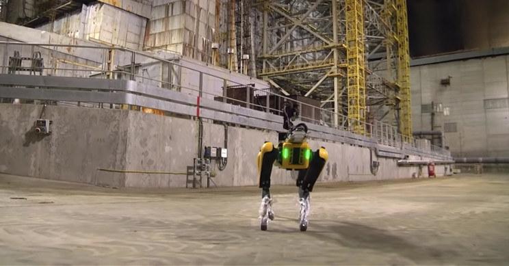 Spot w Czarnobylu /YouTube