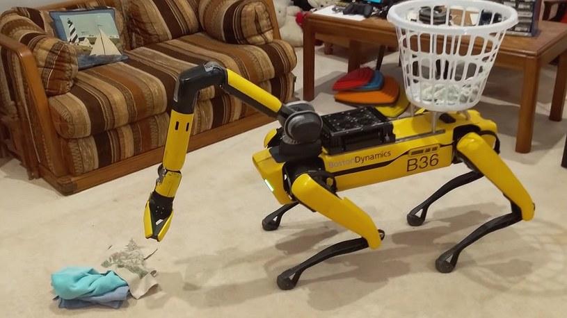 Spot w roli niani, czyli zobacz na filmie nowe zdolności robo-piesa od Boston Dynamics [FILM] /Geekweek