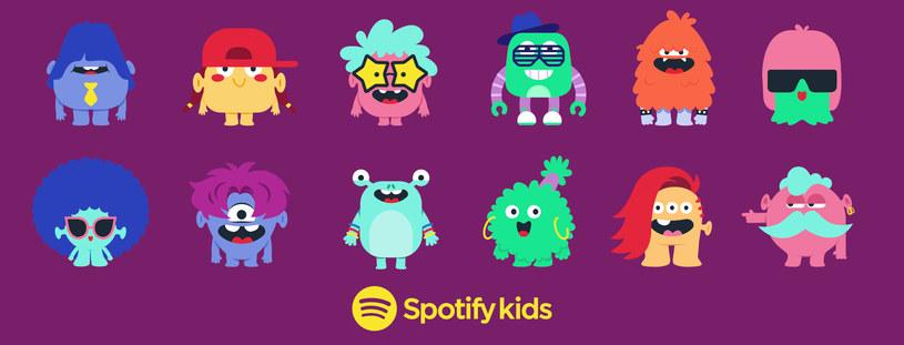 Spotify Kids /materiały prasowe
