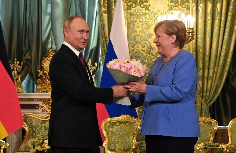 Spotkanie Angeli Merkel i Władimira Putina /SPUTNIK / KREMLIN / POOL /PAP/EPA