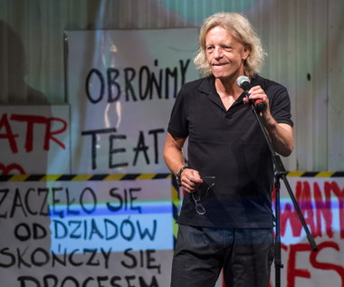 Spotkanie artystów z marszałkiem ws. sytuacji w Teatrze Polskim