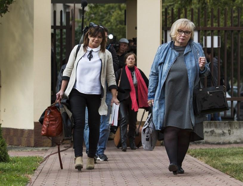 Spotkanie Beaty Szydło z przedstawicielkami NSZZ Solidarność w Centrum Partnerstwa Społecznego Dialog. /Andrzej Hulimka  /East News