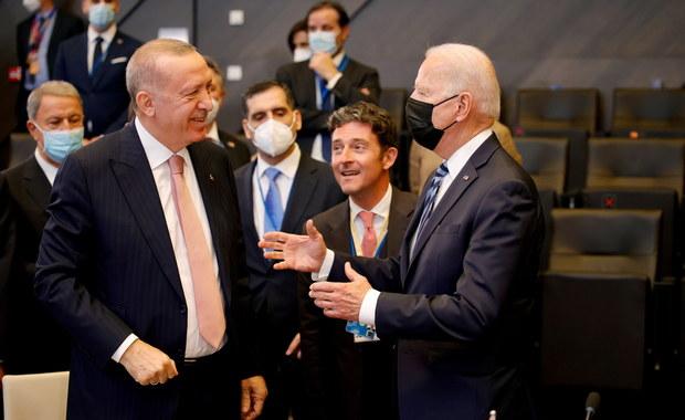 """Spotkanie Biden-Erdogan. """"Było dobre i owocne"""""""