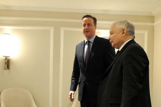 Spotkanie Cameron-Kaczyński, luty 2016, fot. pis.org /