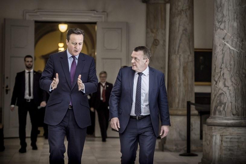 Spotkanie Davida Camerona z premierem Danii /Thomas Lekfeldt /PAP/EPA