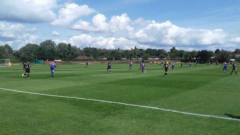 Spotkanie drużyn U14: Crystal Palace - Leicester City /Archiwum prywatne /