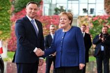 Spotkanie Dudy z Merkel. Wśród tematów reforma UE i relacje z USA