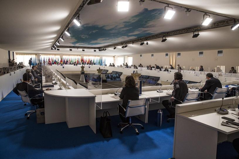 Spotkanie G20 we Włoszech /PAP/EPA/ANGELO CARCONI /PAP