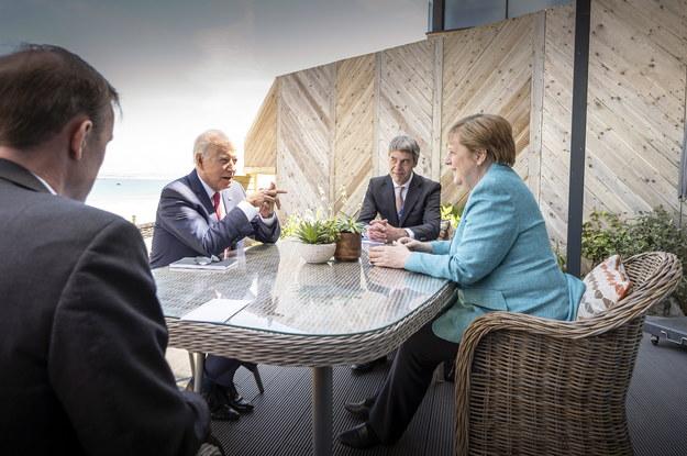 Spotkanie Joe Biden - Angela Merkel /GUIDO BERGMANN/BPA HANDOUT /PAP/EPA