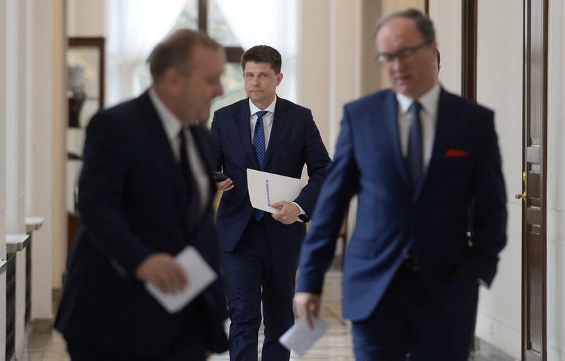Spotkanie liderów w Sejmie /Bartłomiej Zborowski /PAP