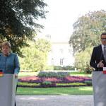 Spotkanie Morawiecki-Merkel. Wspólna konferencja prasowa