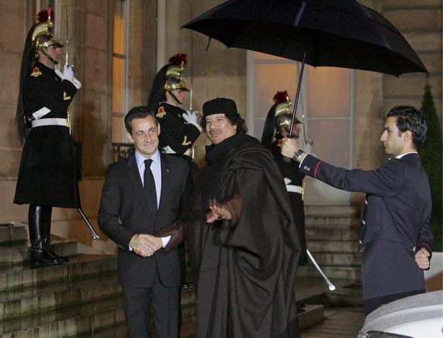 Spotkanie obu przywódców we Francji / MAYA VIDON    /PAP/EPA