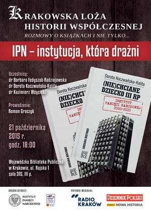 Spotkanie odbędzie się 21 października w Bibliotece przy Rajskiej w Krakowie /materiały prasowe