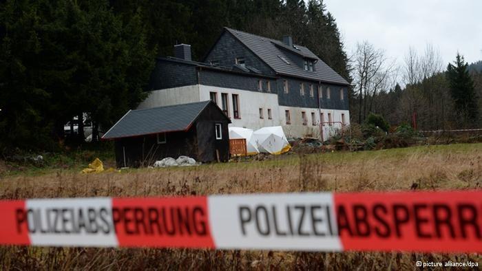 Spotkanie odbyło się w domu służącym także jako pensjonat dla gości /Deutsche Welle