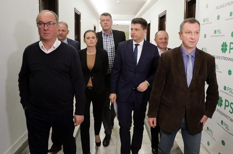 Spotkanie opozycji w Sejmie /Tomasz Gzell /PAP
