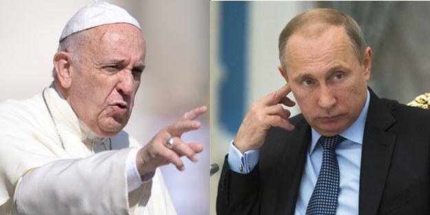"""""""Spotkanie papieża Franciszka i Władimira Putina niczego nie zmieni w kwestii Ukrainy"""" /AFP"""