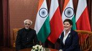 Spotkanie premier z wiceprezydentem Indii
