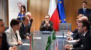 Spotkanie premierów państw Grupy Wyszehradzkiej z prezydentem Francji