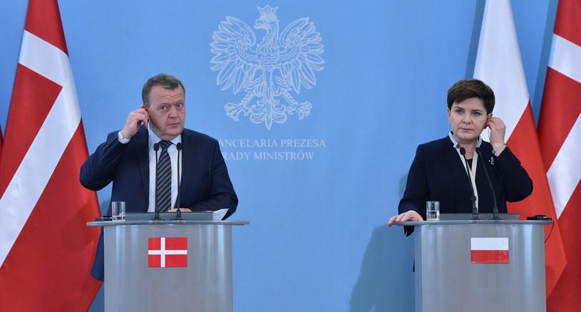 Spotkanie premierów Polski i Danii /Radek Pietruszka /PAP