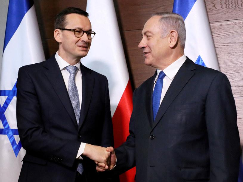 Spotkanie premierów Polski i Izraela /Piotr Molecki /East News