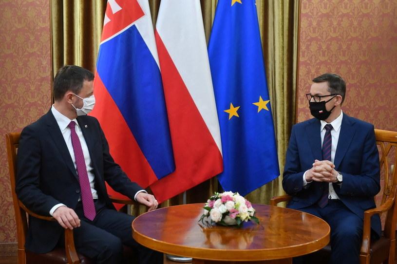 Spotkanie premierów Polski i Słowacji / PAP/Radek Pietruszka /PAP