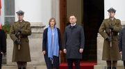 Spotkanie prezydenta Dudy z prezydent Estonii