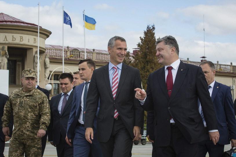 Spotkanie prezydenta Ukrainy i sekretarza generalnego NATO /MIKHAIL PALINCHAK /PAP/EPA