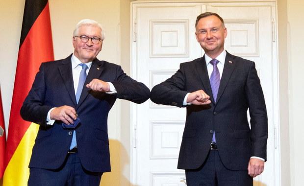 Spotkanie prezydentów Polski i Niemiec: Wierzymy, że współpraca obu państw będzie rozkwitała