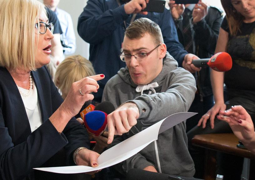 Spotkanie protestujących z rzeczniczką rządu /Mateusz Wlodarczyk /Agencja FORUM