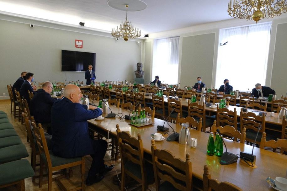 Spotkanie przedstawicieli klubów parlamentarnych /Mateusz Marek /PAP