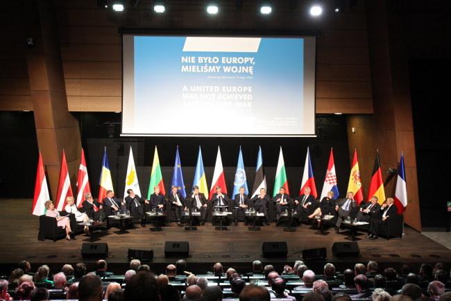 Spotkanie przywódców w Gdańsku /PAP/Piotr Wittman /PAP